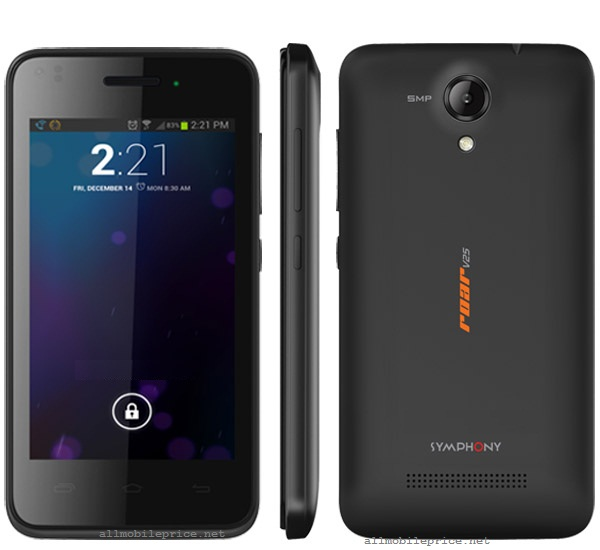Symphony roar V25 Price in Bangladesh